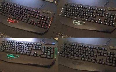 Tastiera Gaming retroilluminata Perixx PX1800